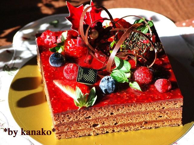 ★★★★★★★★ベリーのチョコケーキ5