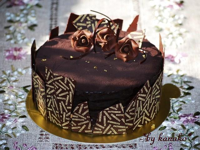 チョコレートケーキ5