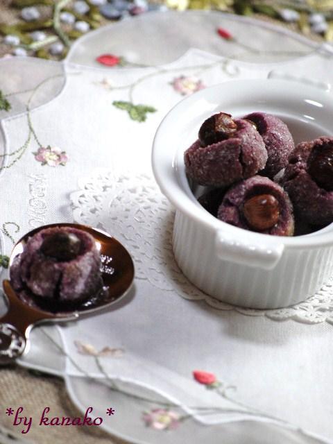●●●紫イモナッツ4
