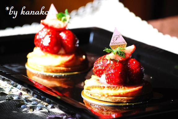 ●●苺のタルトレット&ジュレ29