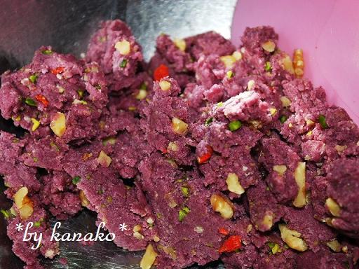 ●●●紫イモのクッキー2