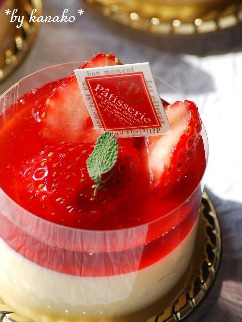 ●●●苺のババロア13