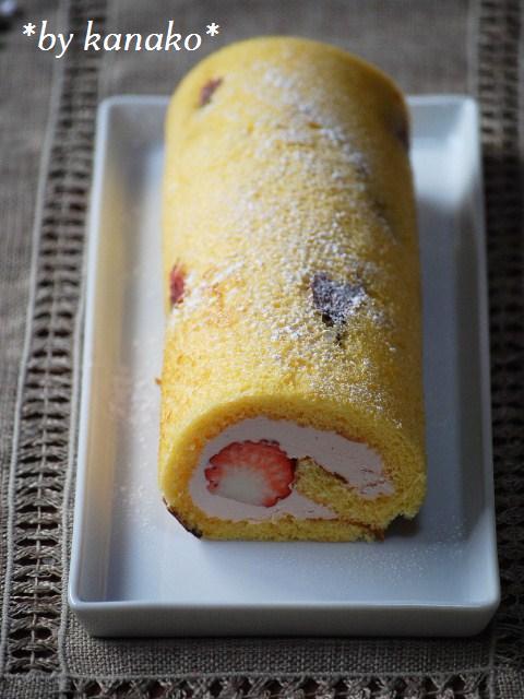 ★★★桜のロールケーキ25