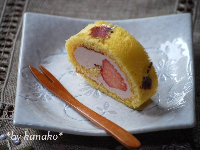 ★★★桜のロールケーキ30