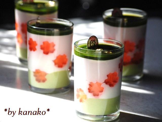 ●●●抹茶&桜2