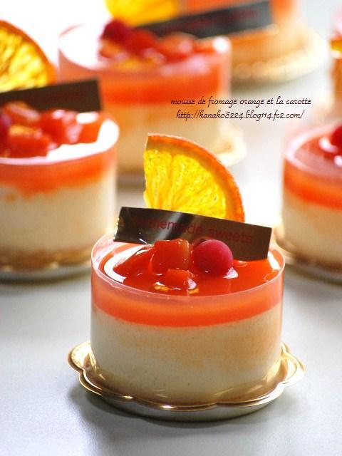 ●●●オレンジチーズムース18