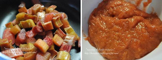 ●ルバーブと苺のマカロン6
