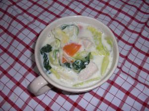 20090204豆乳スープ