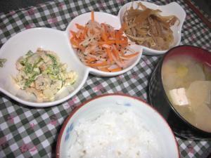 20090224一人ご飯