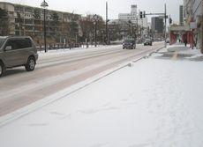 雪の広小路