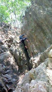 聖人岩 巓が見ていた