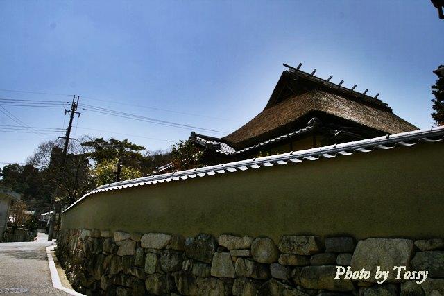 茅葺の武家屋敷