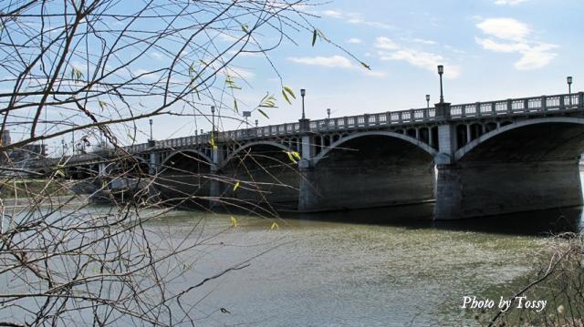 早春の武庫大橋