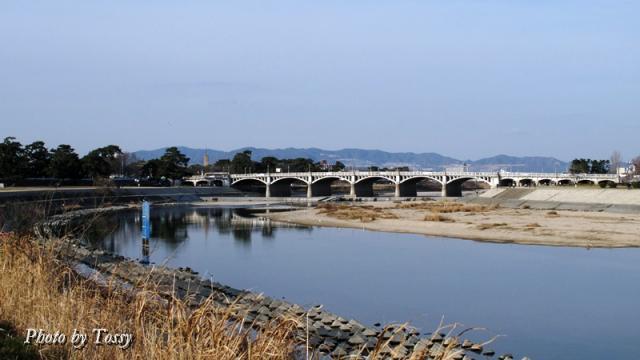 武庫大橋下流から全景