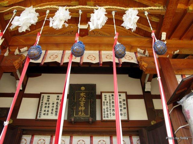 本住吉神社 拝殿2