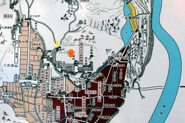 龍野城城下絵図2