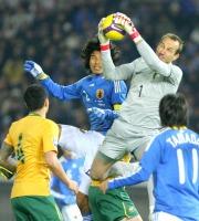 南アW杯アジア最終予選A組第4戦オーストラリア戦1