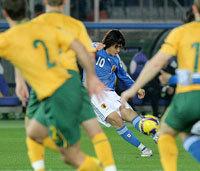 南アW杯アジア最終予選A組第4戦オーストラリア戦2