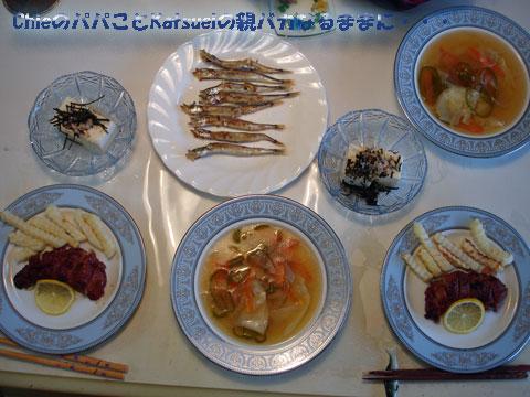 夕食2009-04-30