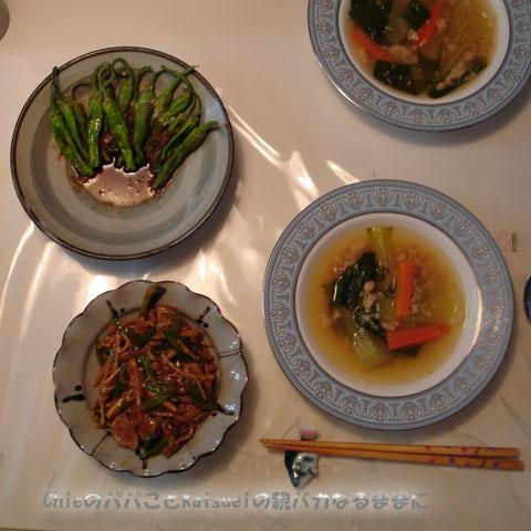 夕食2009-05-29