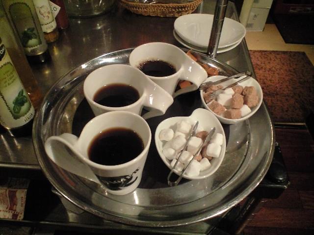 指揮者殿が用意してくれたコーヒー♪