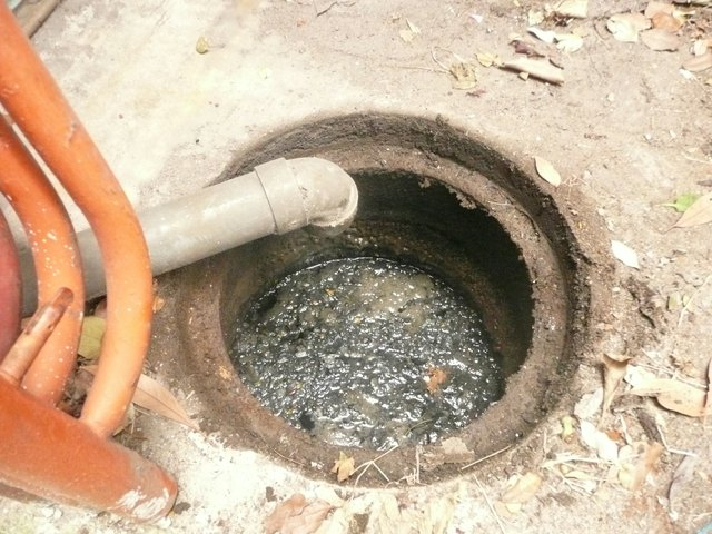 排水マスのつまり