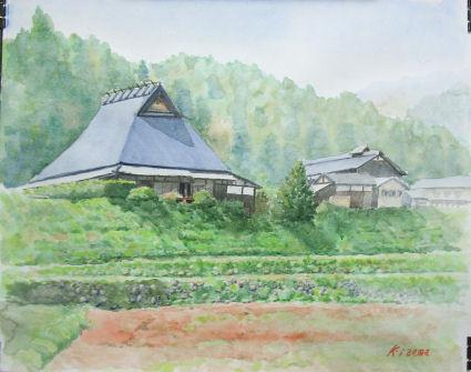 2010年04月06日 京都 大原 寂光院ノ近く ブログ用