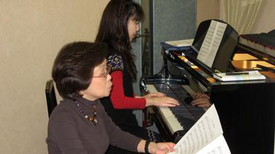 ピアノ、指揮