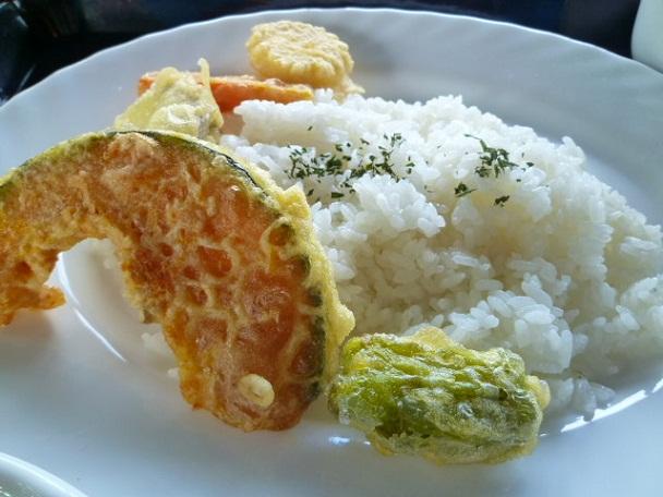夏野菜の揚げ物が美味しいんです