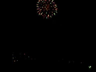 この日は津田の花火でした