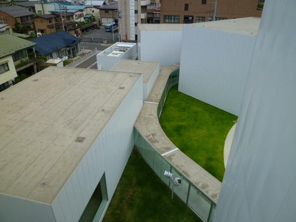 屋上からです 建物の配置がよく分かります