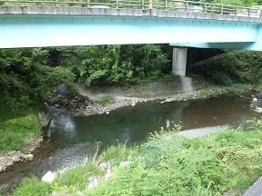 待ってる間のお供は土器川上流のせせらぎ カワセミを見ることができればラッキーですね