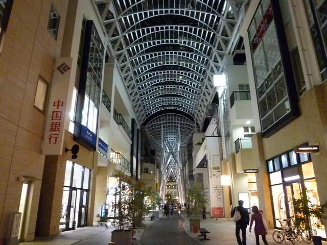 丸亀町ドームに負けず劣らずの美しいアーケード街が誕生しました