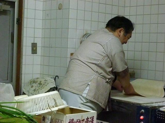 麺は自家製手打ちです