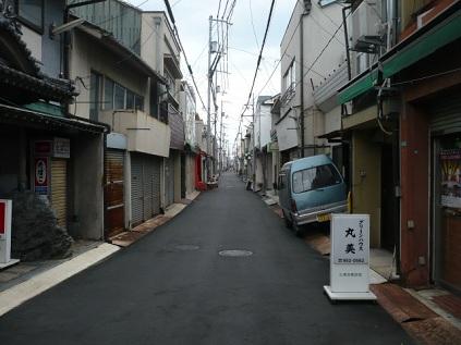 昔の街並みです