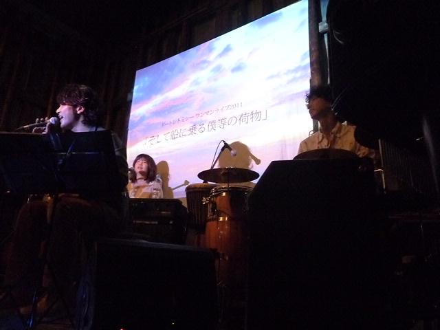 右から折笠さん,yokoさん,kyo-sukeさん