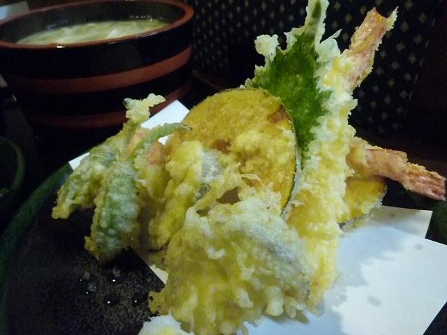 天ぷらも食べたかったし