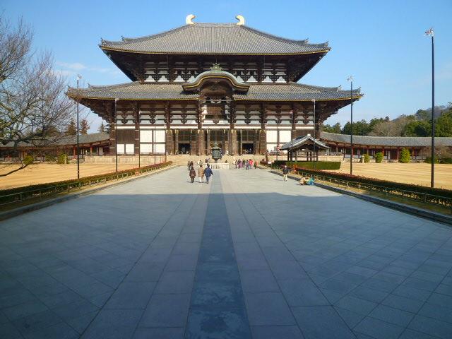 世界で一番大きい木造建築物だそうです