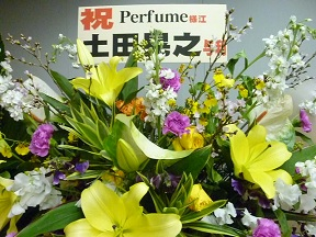 Perfume芸人,土田からもきてる