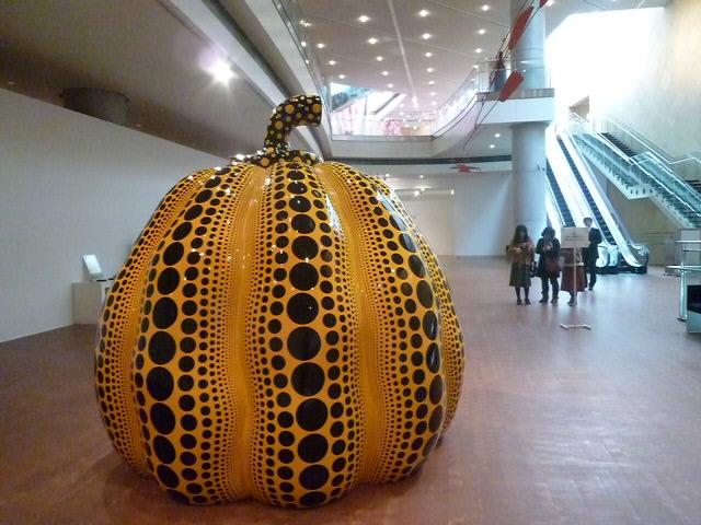 3ヶ所目の写真OKはここです 黄色いかぼちゃは大人気です
