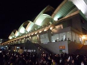 福岡では福岡ドームに次ぐ収容数です