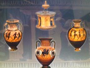 この陶器のことをアンフォラというんです