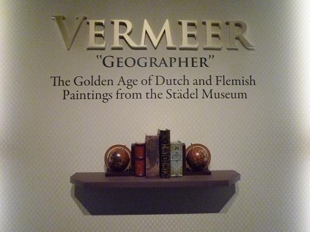 2008年以来のフェルメールです