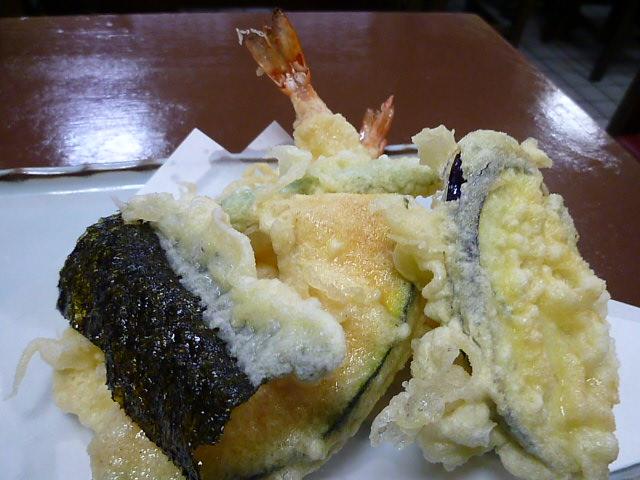 天ぷらです
