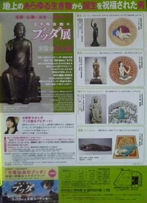 原画と仏像でたどる釈迦の生涯です