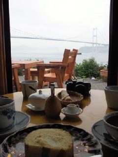 海の見えるカフェ1