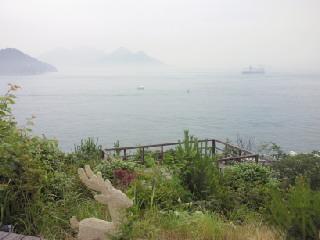 海の見えるカフェ2