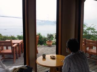 海の見えるカフェ4