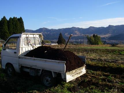 100207堆肥まき