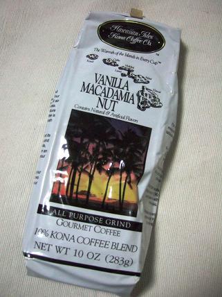 バニラマカダミアナッツコーヒー